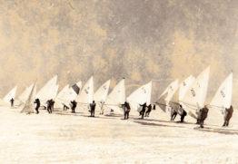 Winter surfing in Estonia