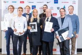 The Estonian Olympic Committee awarded successful Estonian winter windsurfers